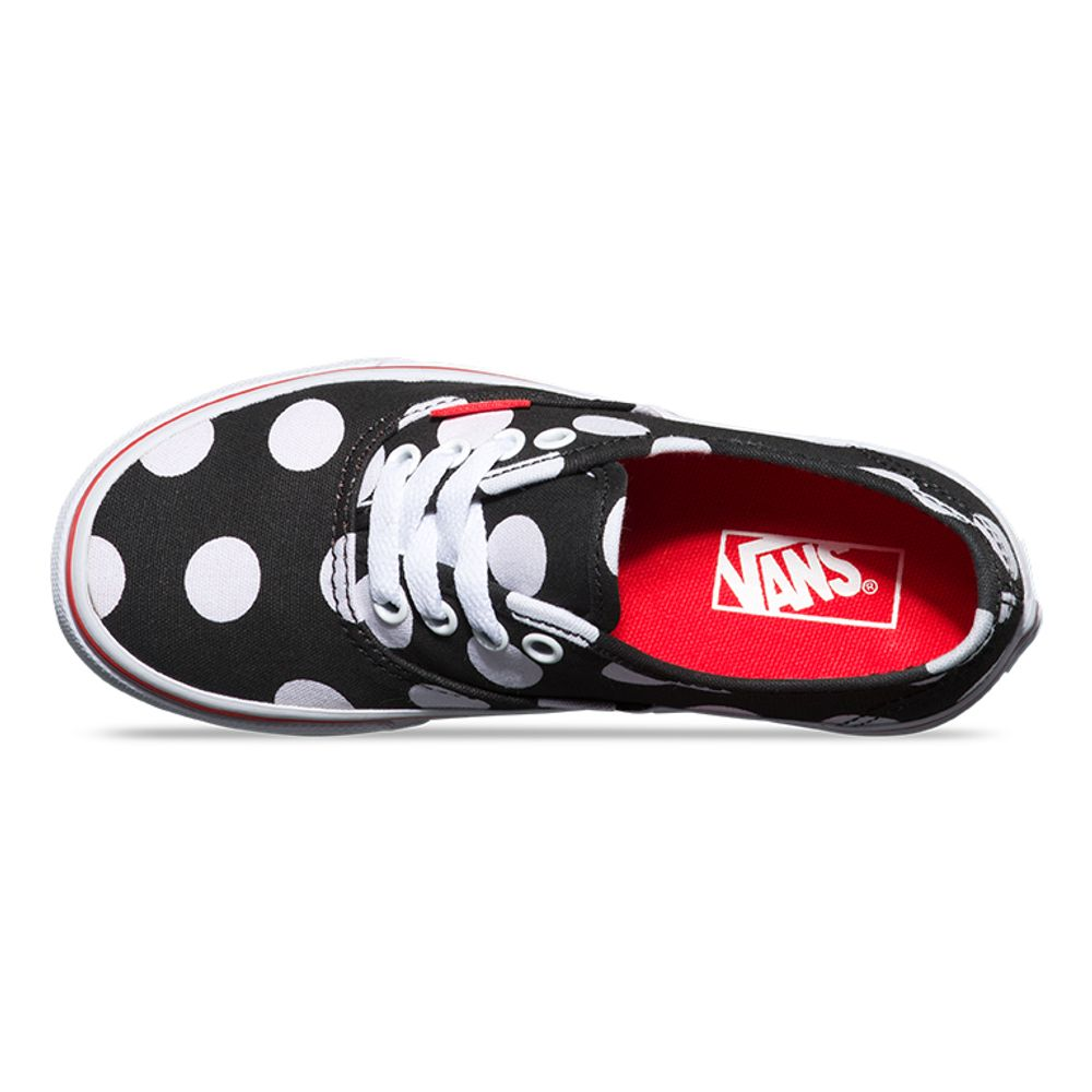 AUTHENTIC-POLKA-DOT-BLACK-FIERY-RED