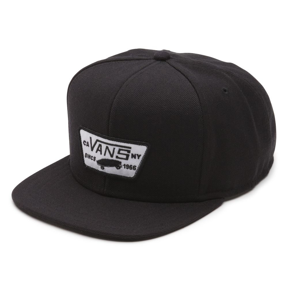 FULL-PATCH-SNAPBACK-TRUE-BLACK