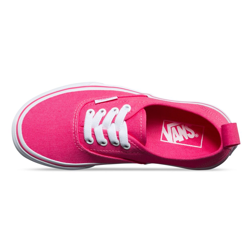 AUTHENTIC-ELASTIC-LACE-HOT-PINK-TRUE-WHITE