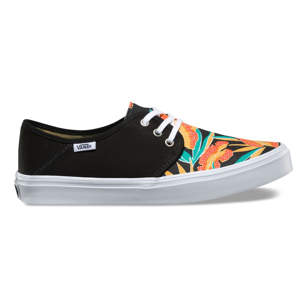 TAZIE-SF-TROPICAL-LEAVES-BLACK