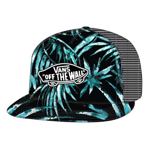 CLASSIC-PATCH-TRUCKER-PLUS-BLACK-WATER-PALM