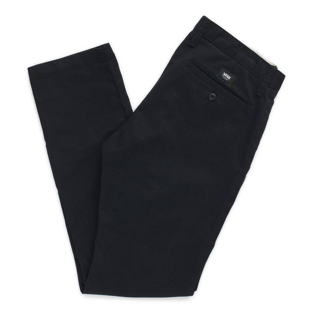 AUTHENTIC-CHINO-STRETCH-BLACK