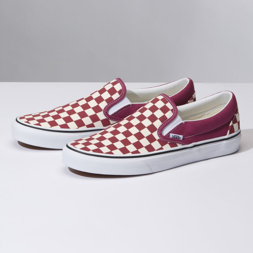 Classic-Slip-On---Color--Checker-Dry-Rose-White---Talla---5.5M