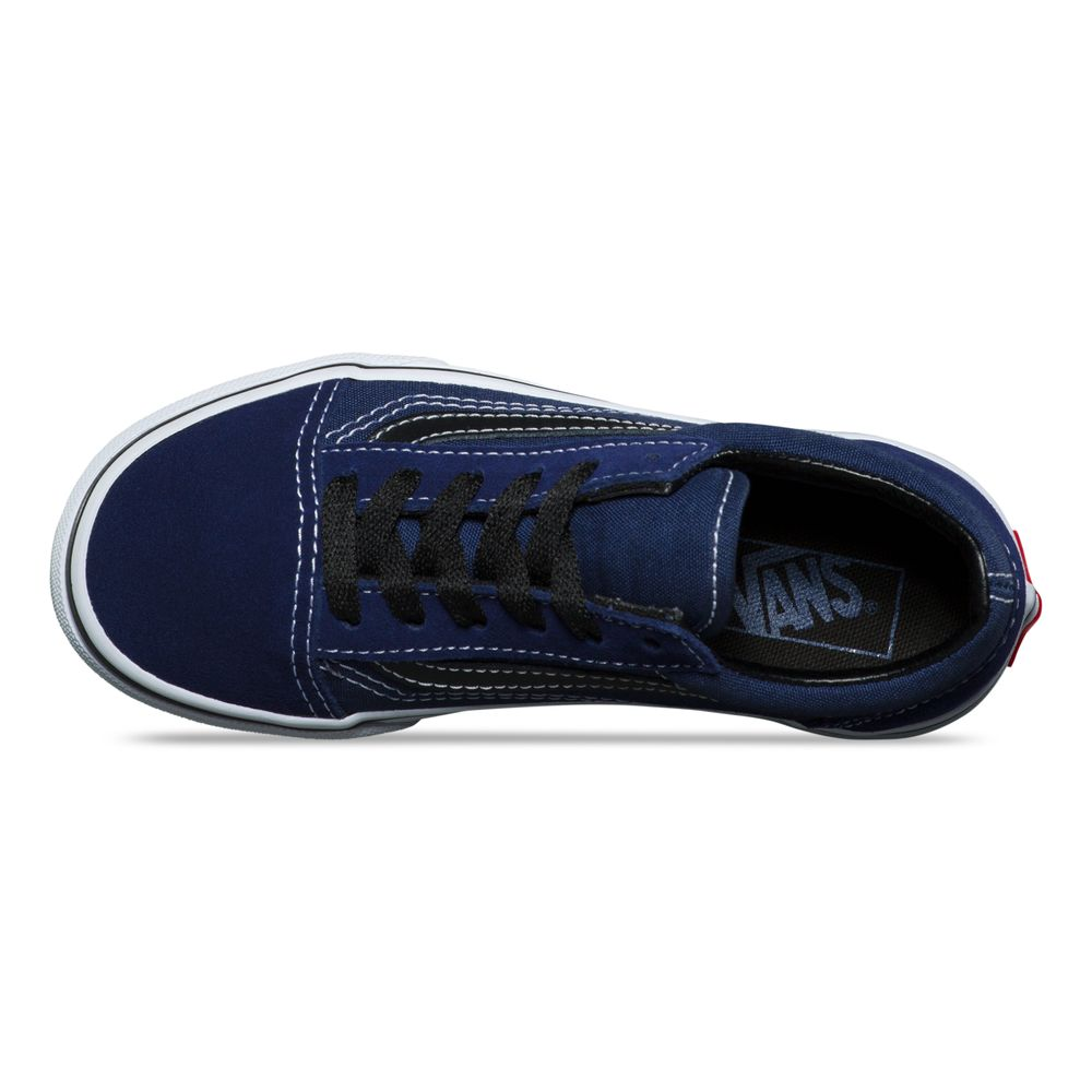 Old-Skool---Color--Medieval-Blue-Black---Talla---5M