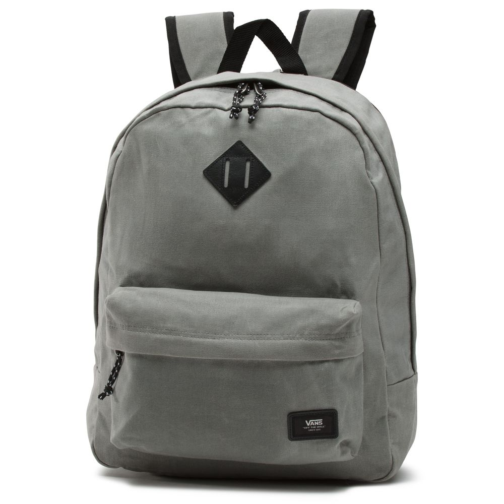 Old-Skool-Plus-Backpack---Color--Frost-Grey---Talla--OS