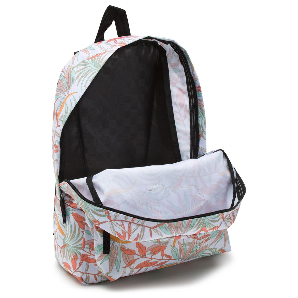 Realm-Backpack---Color--White-California-Floral---Talla--OS