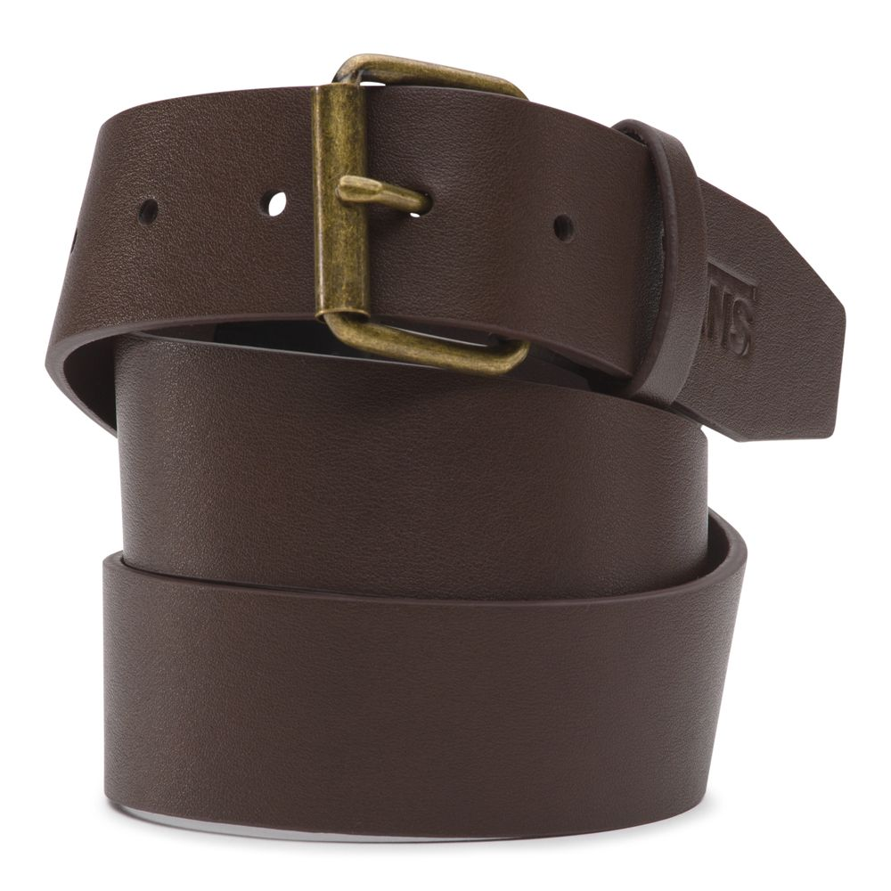 Hunter-Ii-Pu-Belt---Color--DARK-BROWN---Talla--32
