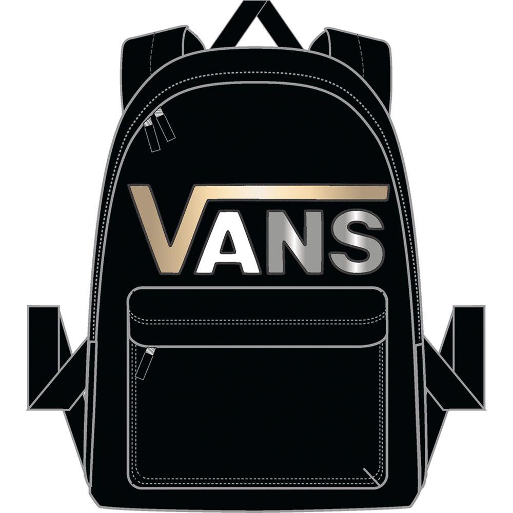Realm-Flying-V-Backpack---Color--Black-Metallic---Talla--OS