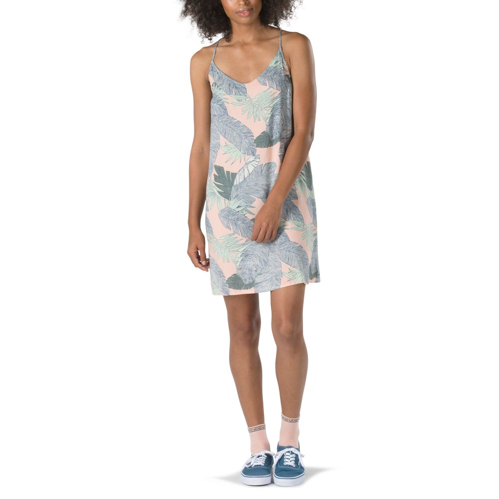 Maria-Dress---Color--Evening-Sand-Palm-Fronds---Talla--S