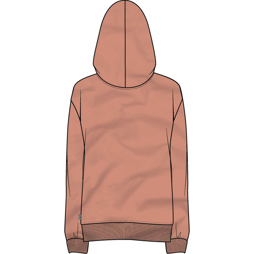 Poppy-Dream-Zip-Hoodie---Color--Muted-Clay---Talla--S