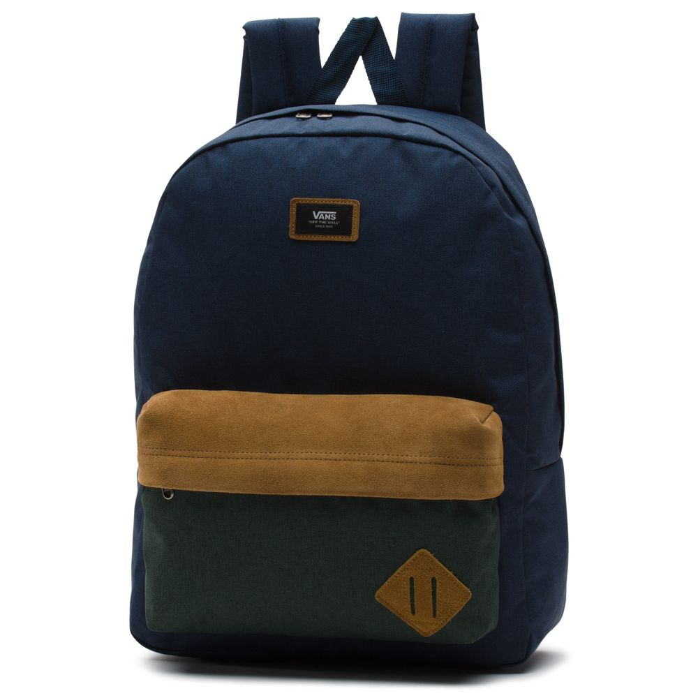 Old-Skool-Ii-Backpack---Color--DRESS-BLUES-DARKEST-SPRUCE---Talla---OS