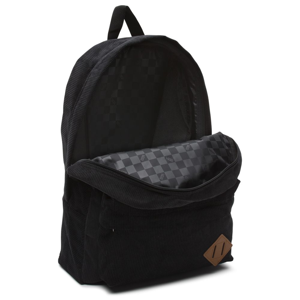 Old-Skool-Ii-Backpack---Color--BLACK-CORDUROY---Talla---OS