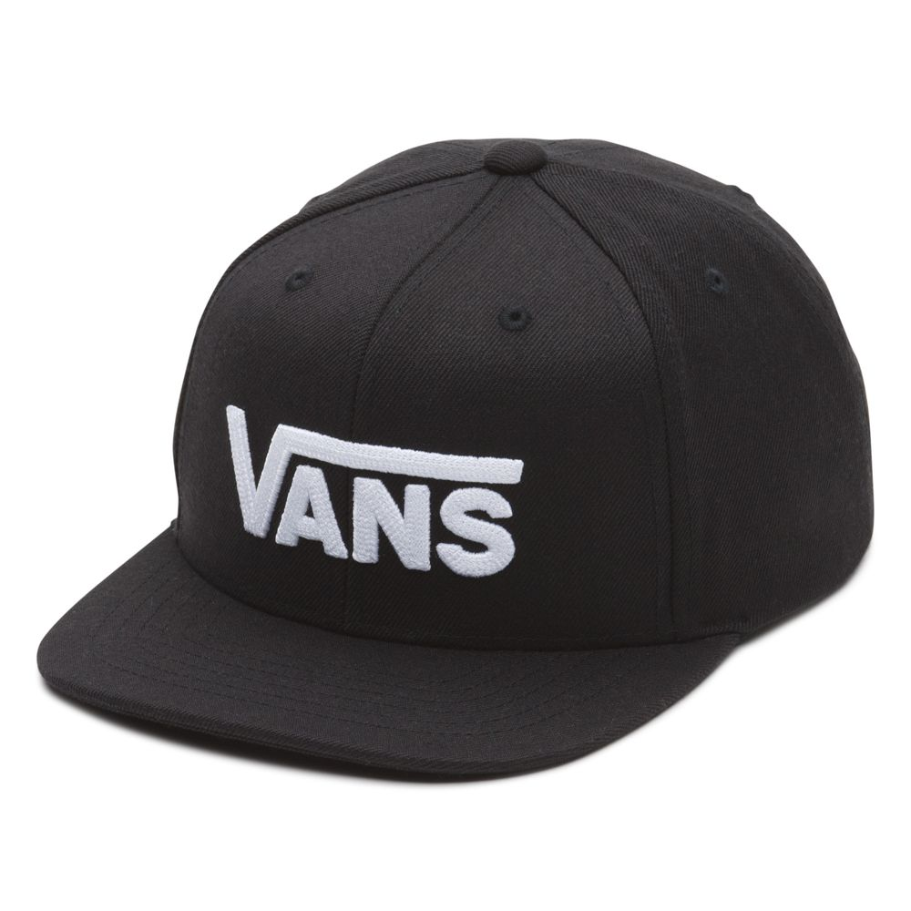 Drop-V-Ii-Snapback-Boys---Color--BLACK-WHITE---Talla---OS