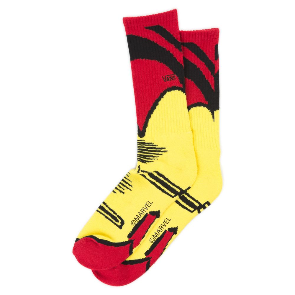 Vans-X-Marvel-Sock-95-13-1Pk---Color--CHILI-PEPPER---Talla---OS