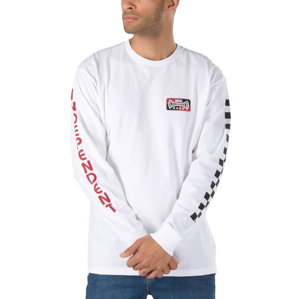 Vans-X-Independent-Checkerboard-Ls---Color--WHITE---Talla---L