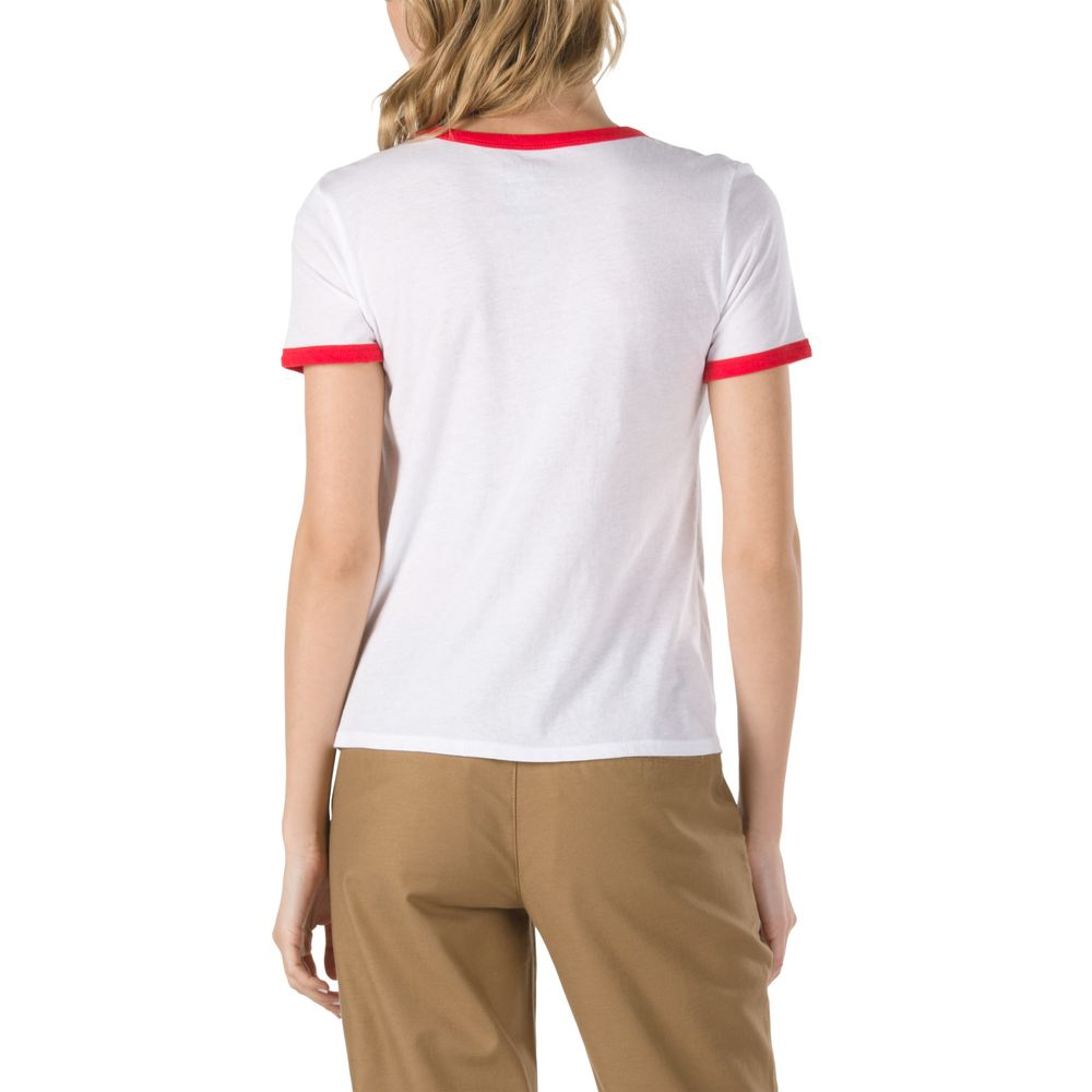 Avengers-Ringer-Tee---Color--WHITE-RACING-RED---Talla---M