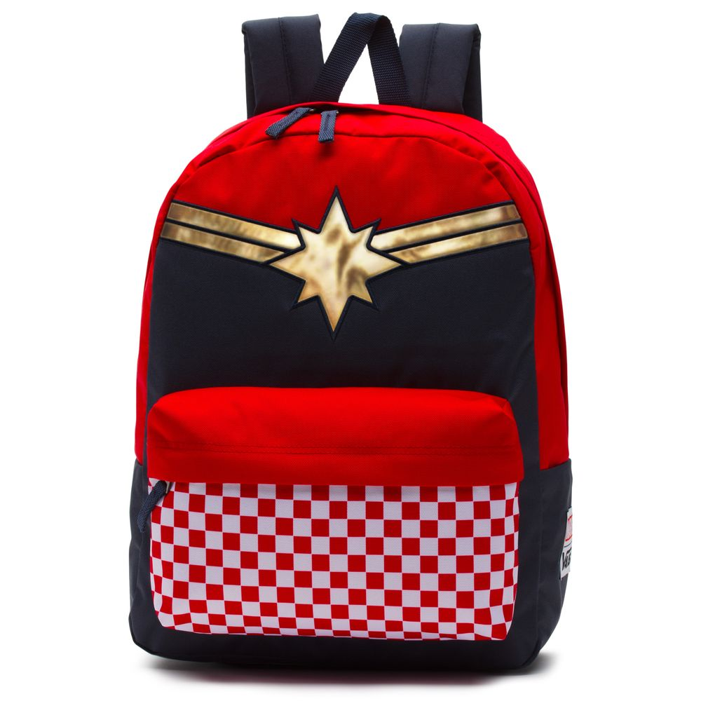 Captain-Marvel-Realm-Backpack---Color--RACING-RED---Talla---OS