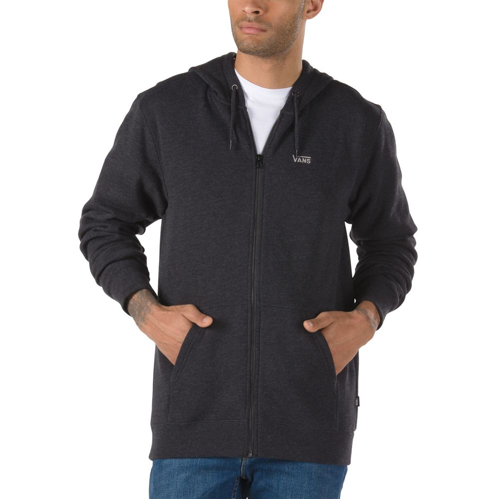 Basic-Zip-Hoodie---Color--BLACK-HEATHER---Talla---L