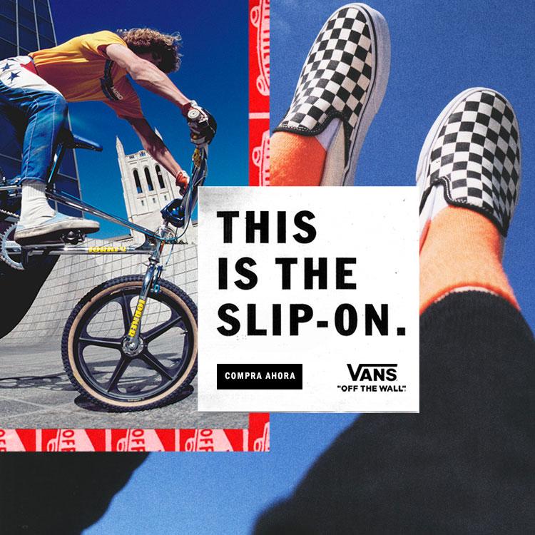 Campaña Slip On
