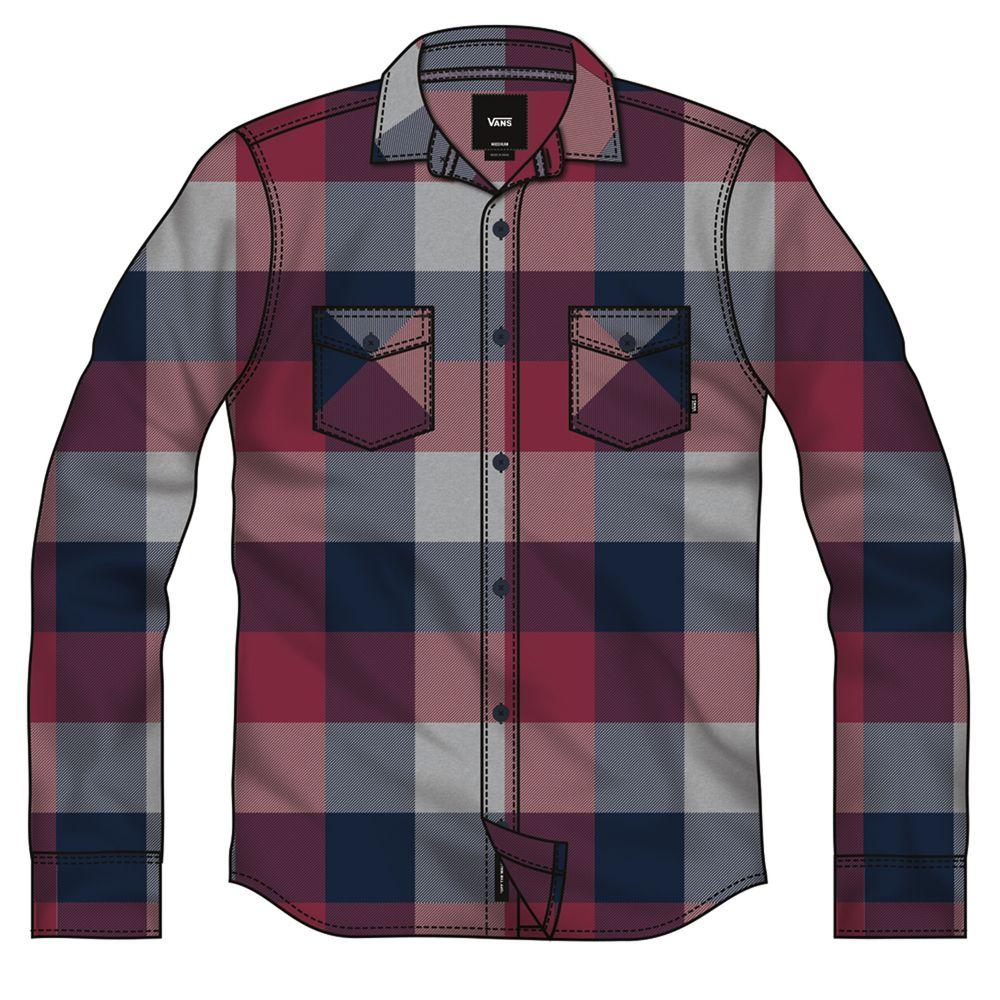 Box-Flannel----Rhumba-Red-Dress-Blues--S