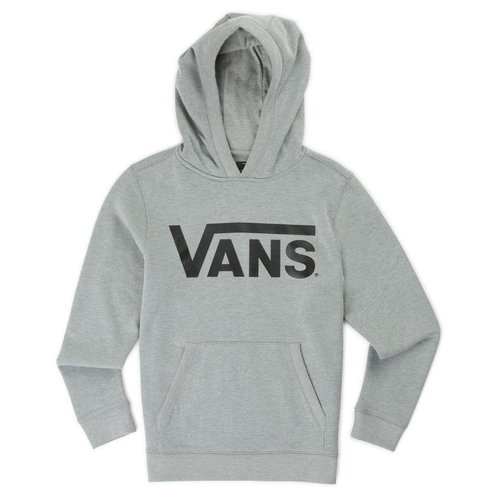 Vans-Classic-Pullover-Hoodie-Boys----Black-White--L