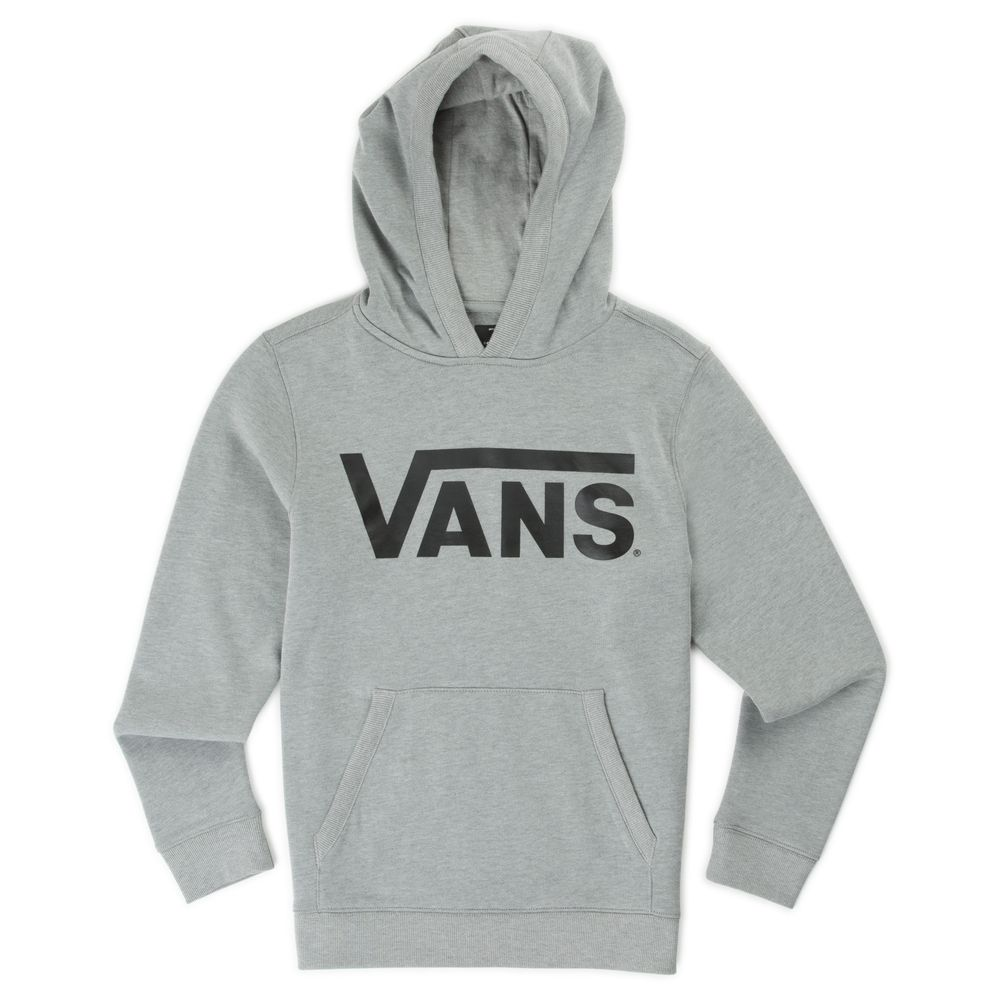 Vans-Classic-Pullover-Hoodie-Boys----Black-White--M