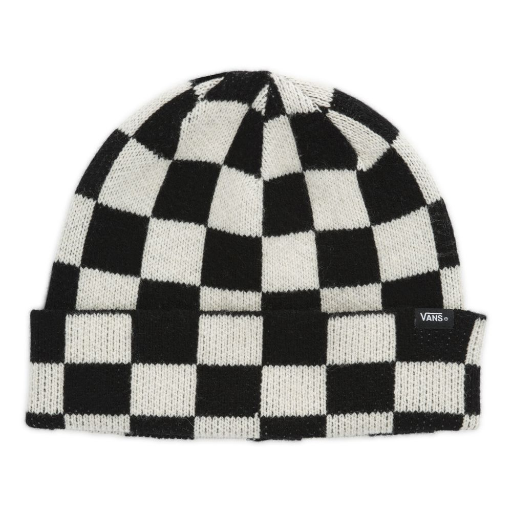 Core-Basic-Plus-Beanie----Black-White-Check--OS