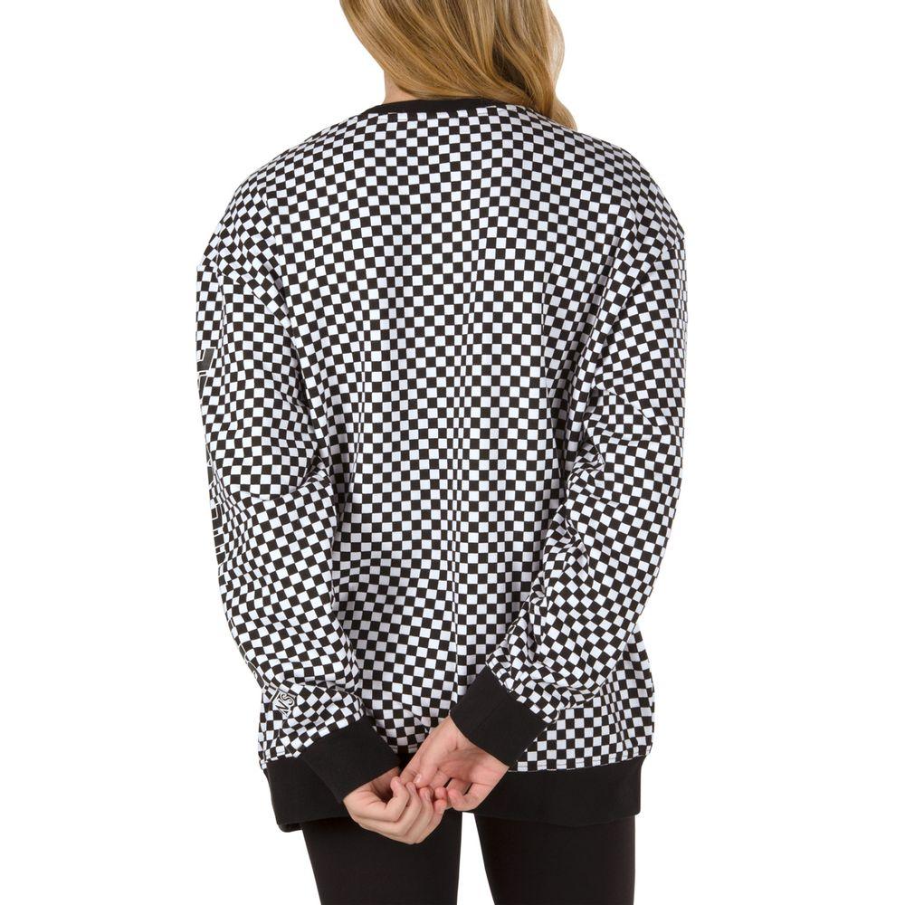 Centrl-Crew----Black-Checkerboard--S