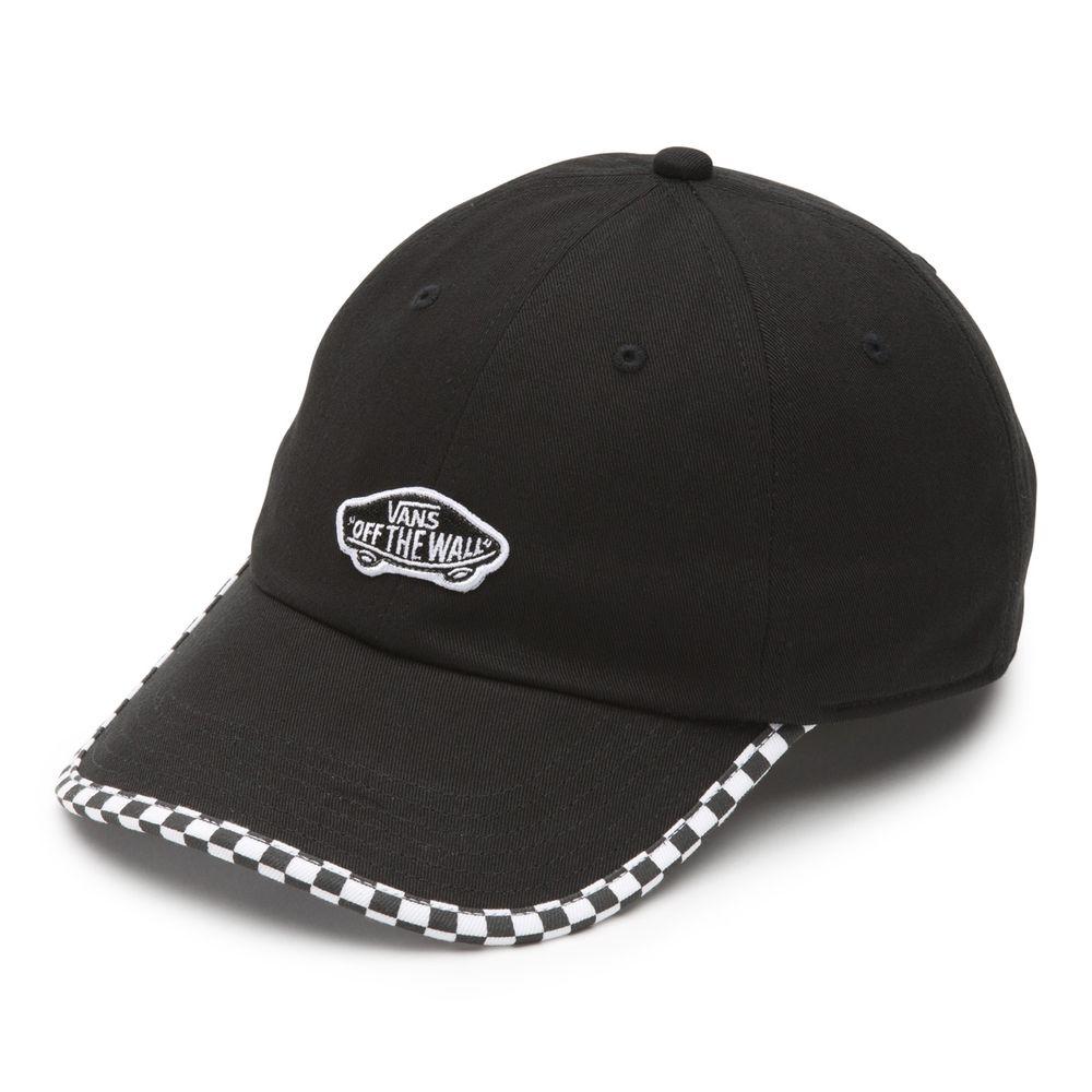 Check-It-Hat----Black-Checkerboard--OS