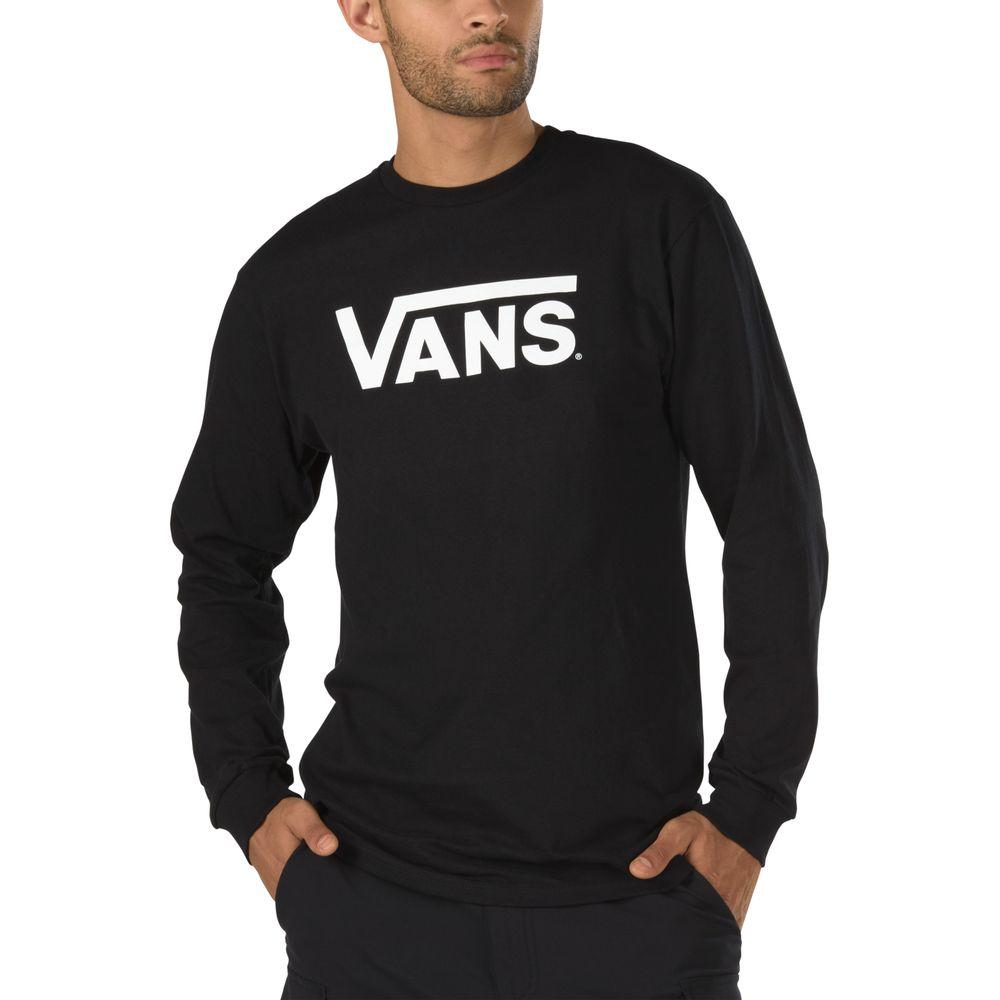Vans-Classic-Ls----Black-White--S