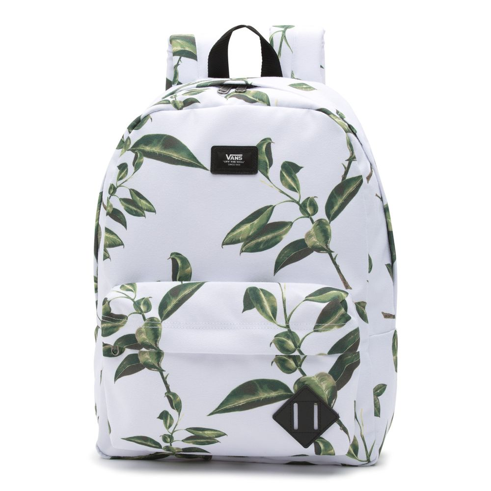Old-Skool-Ii-Backpack----Rubber-Co-Floral--OS