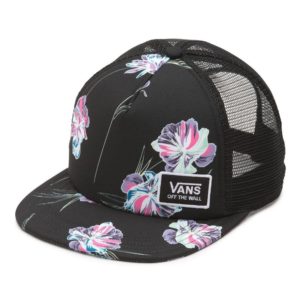 Beach-Bound-Trucker----Black-Paradise-Floral--OS
