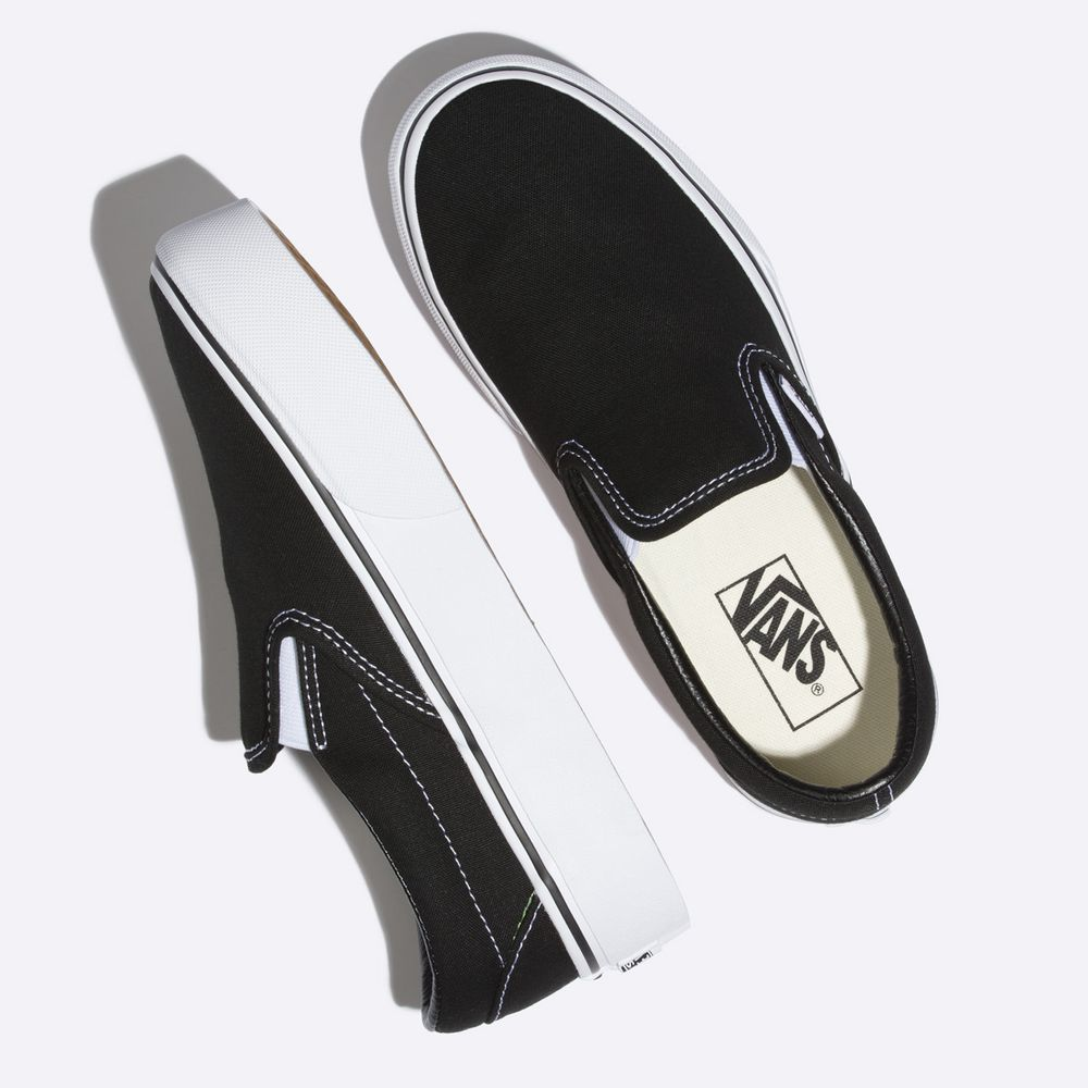 Classic-Slip-On-Platform----BLACK--7M