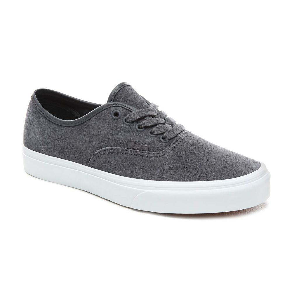 Authentic----SOFT-SUEDE-EBONY-TRUE-WHITE--5.5M