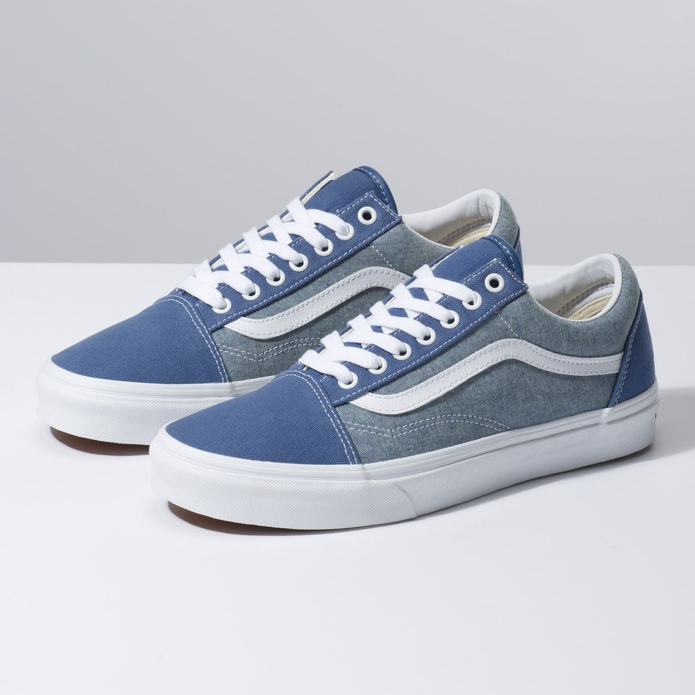 Old-Skool----Chambray-Canvas-True-Navy--5M