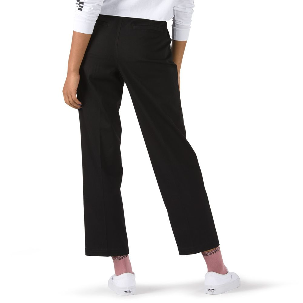 AUTHENTIC-CHINO-WMN-BLACK