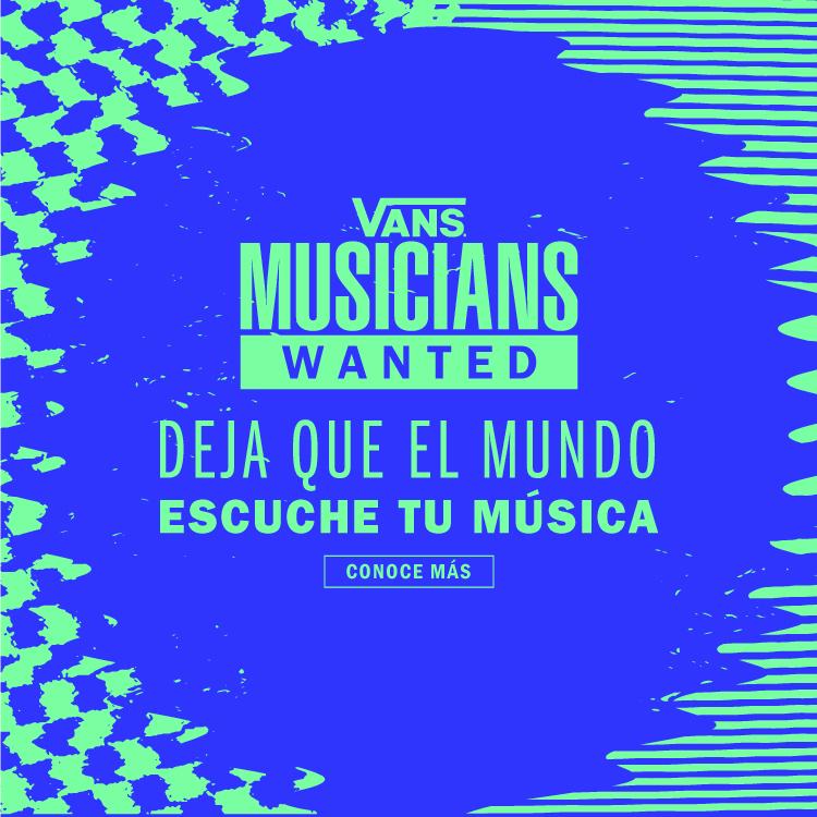 VANS MUSICIANS WANTED