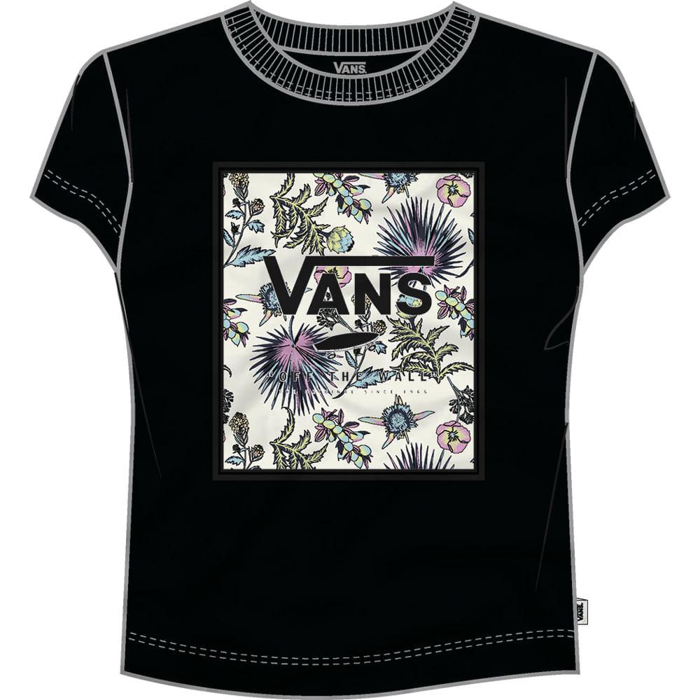 Camiseta-Vans-Boxed-Floralz