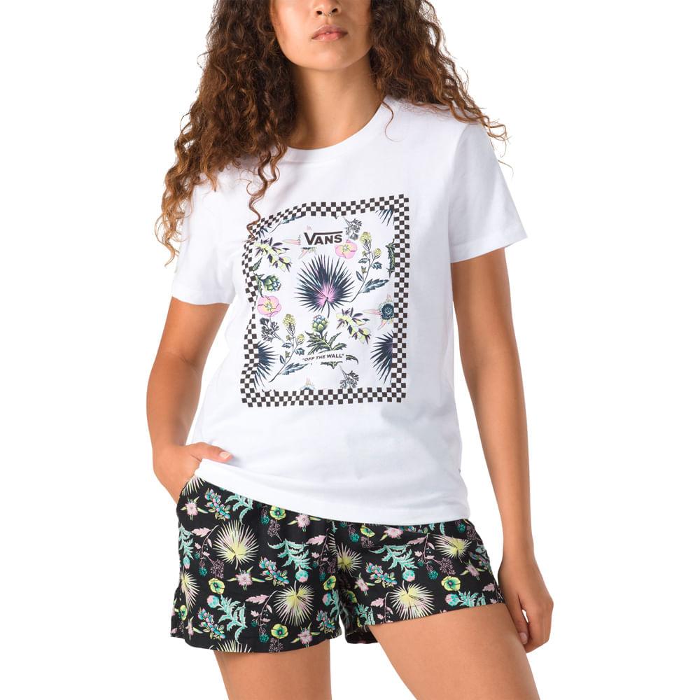 Camiseta-Vans-Border-Floral-Bf
