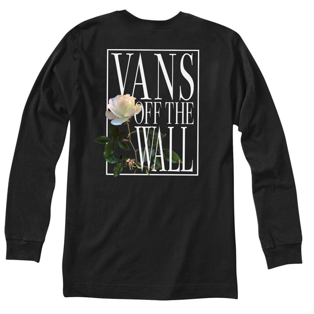 Camiseta-Rose-Box-Ls-Hombre-Vans