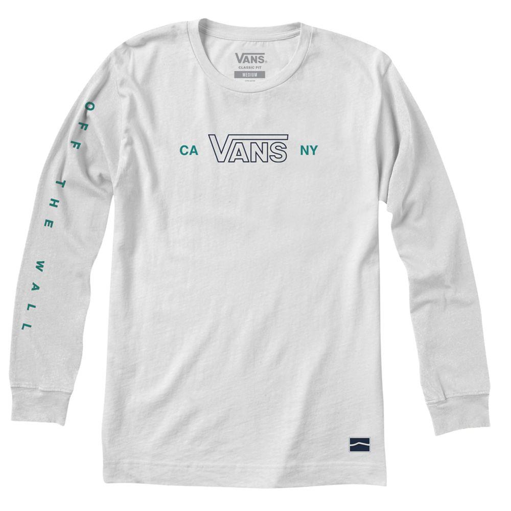 Camiseta-Sequence-Ls-Hombre-Vans
