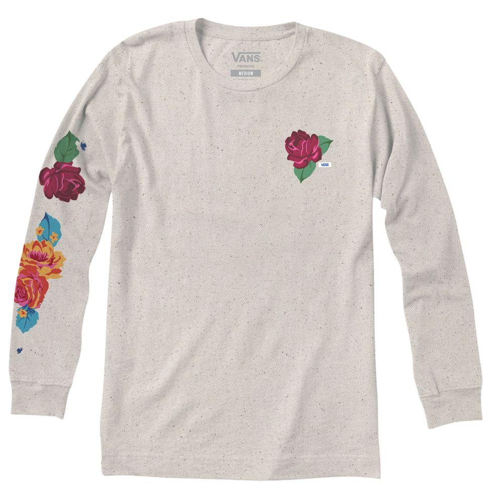 Camiseta-Anaheim-Needlepoint-Foral-Ls-Hombre-Vans