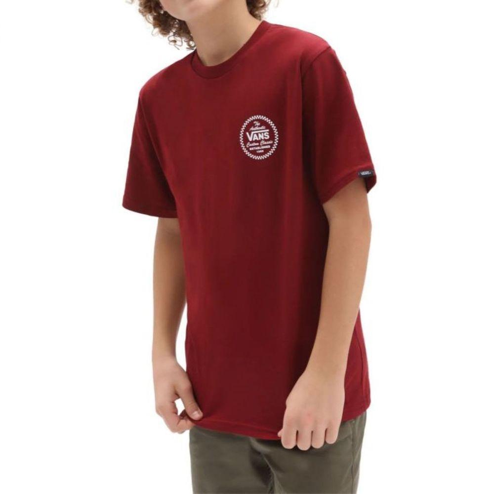 Camiseta-Vans-Custom-Classic-Ss-Boys-Niño-Vans