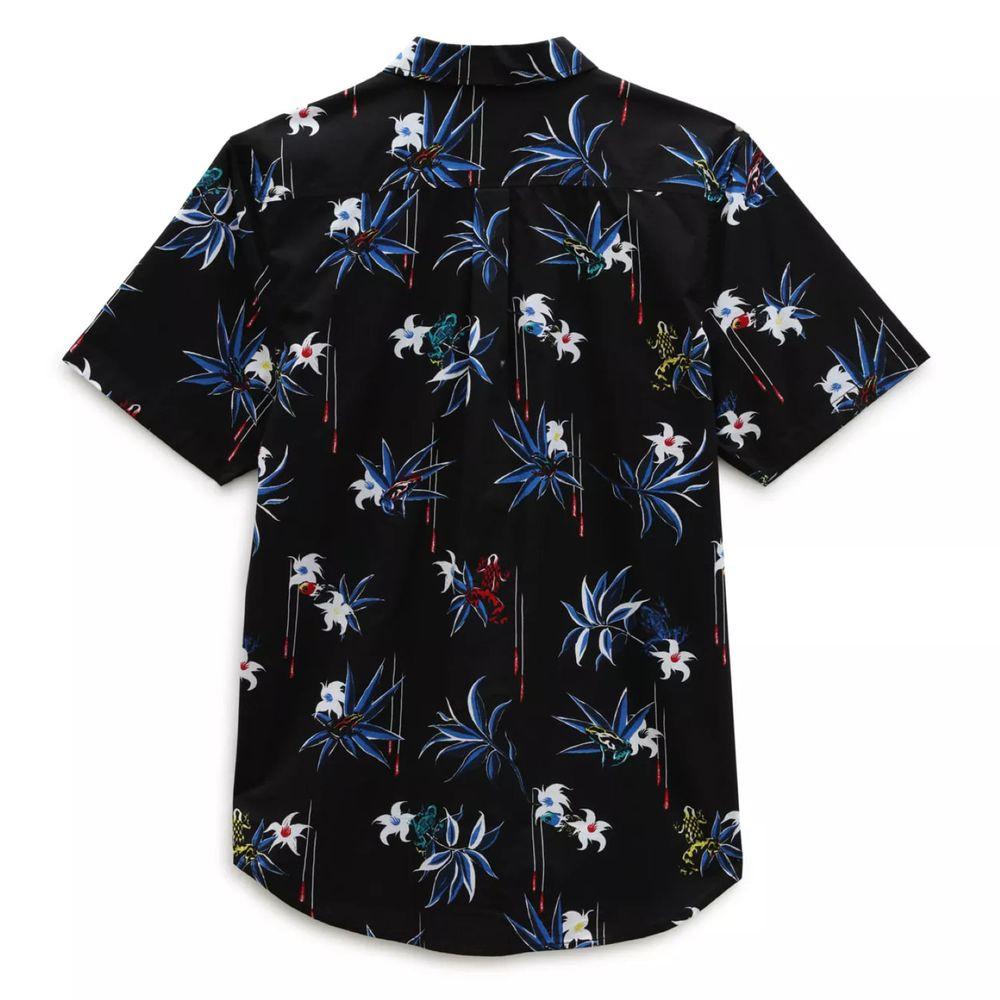 Camisa-manga-corta-Dart-Floral-Woven-Ss-Hombre-Vans